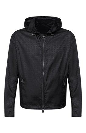 Мужская куртка BRIONI черного цвета, арт. SLQZ0L/P9912   Фото 1