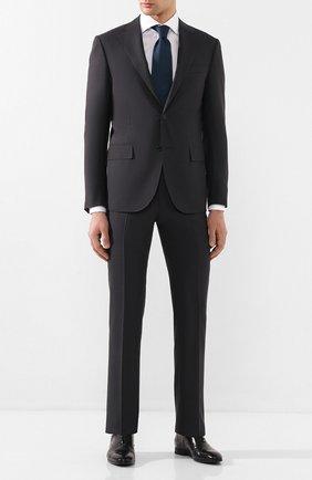 Мужской шерстяной костюм CORNELIANI темно-серого цвета, арт. 857268-0118414/92 Q1 | Фото 1