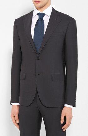 Мужской шерстяной костюм CORNELIANI темно-серого цвета, арт. 857268-0118414/92 Q1 | Фото 2