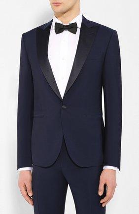 Мужской шерстяной смокинг CORNELIANI темно-синего цвета, арт. 857210-0114135/92G1 | Фото 2