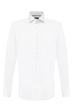 Мужская хлопковая сорочка VAN LAACK белого цвета, арт. TIVARA2-PSF/150185 | Фото 1