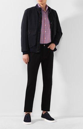Мужская хлопковая рубашка VAN LAACK разноцветного цвета, арт. TES02-PSF/161835 | Фото 2