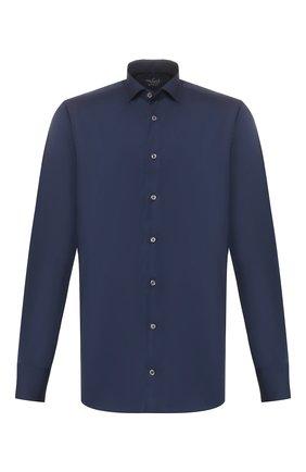 Мужская хлопковая сорочка VAN LAACK темно-синего цвета, арт. RAND0-LTF/150188 | Фото 1