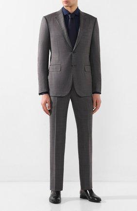 Мужская хлопковая сорочка VAN LAACK темно-синего цвета, арт. RAND0-LTF/150188 | Фото 2