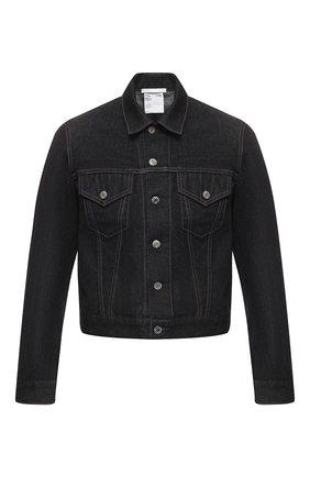 Мужская джинсовая куртка HELMUT LANG темно-синего цвета, арт. I09DM105 | Фото 1
