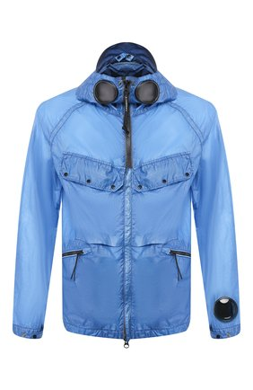 Мужская куртка C.P. COMPANY голубого цвета, арт. 08CM0W122A-005576S | Фото 1