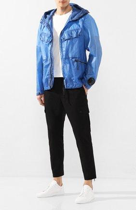 Мужская куртка C.P. COMPANY голубого цвета, арт. 08CM0W122A-005576S | Фото 2