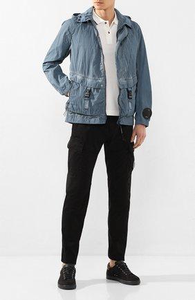 Мужская куртка C.P. COMPANY темно-синего цвета, арт. 08CM0W173A-005680S | Фото 2