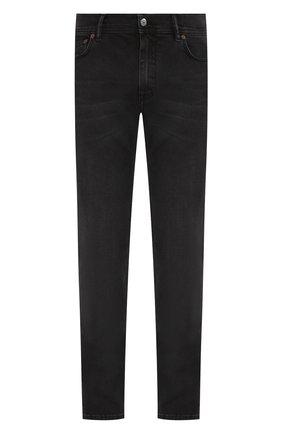 Мужские джинсы ACNE STUDIOS темно-серого цвета, арт. 30Y176-142 | Фото 1