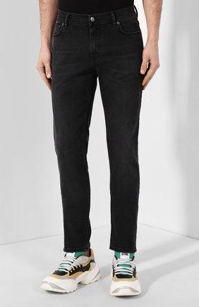 Мужские джинсы ACNE STUDIOS темно-серого цвета, арт. 30Y176-142 | Фото 3