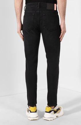 Мужские джинсы ACNE STUDIOS темно-серого цвета, арт. 30Y176-142 | Фото 4