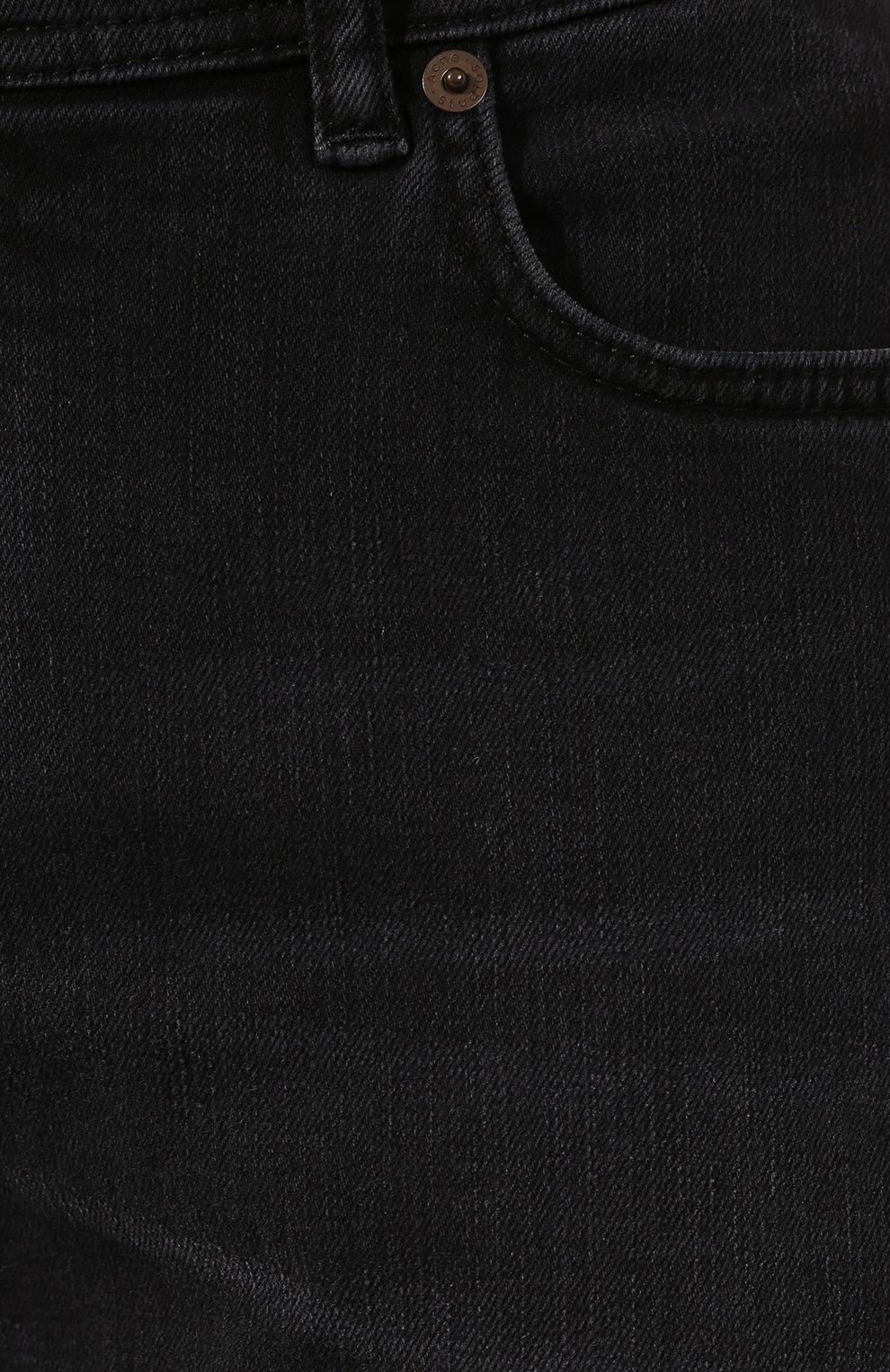 Мужские джинсы ACNE STUDIOS темно-серого цвета, арт. 30Y176-142 | Фото 5