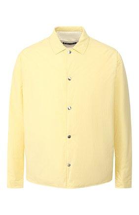 Мужская куртка JIL SANDER желтого цвета, арт. JPUQ400267-MQ460800C | Фото 1