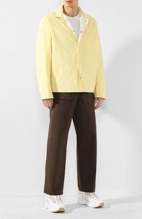Мужская куртка JIL SANDER желтого цвета, арт. JPUQ400267-MQ460800C | Фото 2
