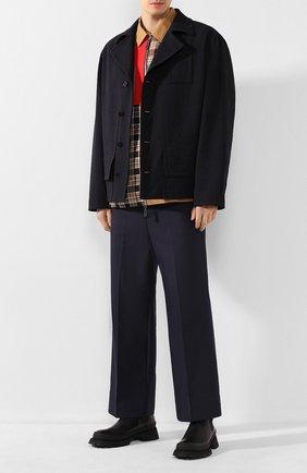 Мужская куртка JIL SANDER темно-синего цвета, арт. JSMQ400212-MQ441000 | Фото 2