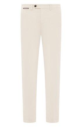 Мужской хлопковые брюки ELEVENTY кремвого цвета, арт. A70PANA02 TET0A003 | Фото 1