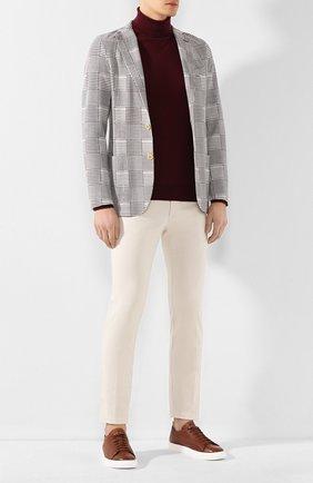 Мужской хлопковые брюки ELEVENTY кремвого цвета, арт. A70PANA02 TET0A003 | Фото 2