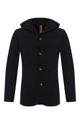 Мужской хлопковый пиджак ELEVENTY темно-синего цвета, арт. 979JA3195 JAC25001   Фото 1
