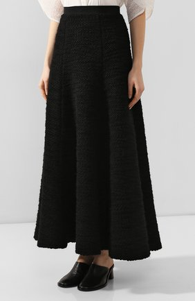 Женская юбка TEGIN черного цвета, арт. FS2065 | Фото 3