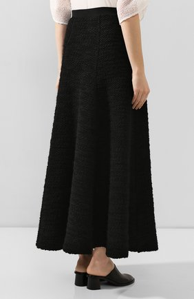 Женская юбка TEGIN черного цвета, арт. FS2065 | Фото 4