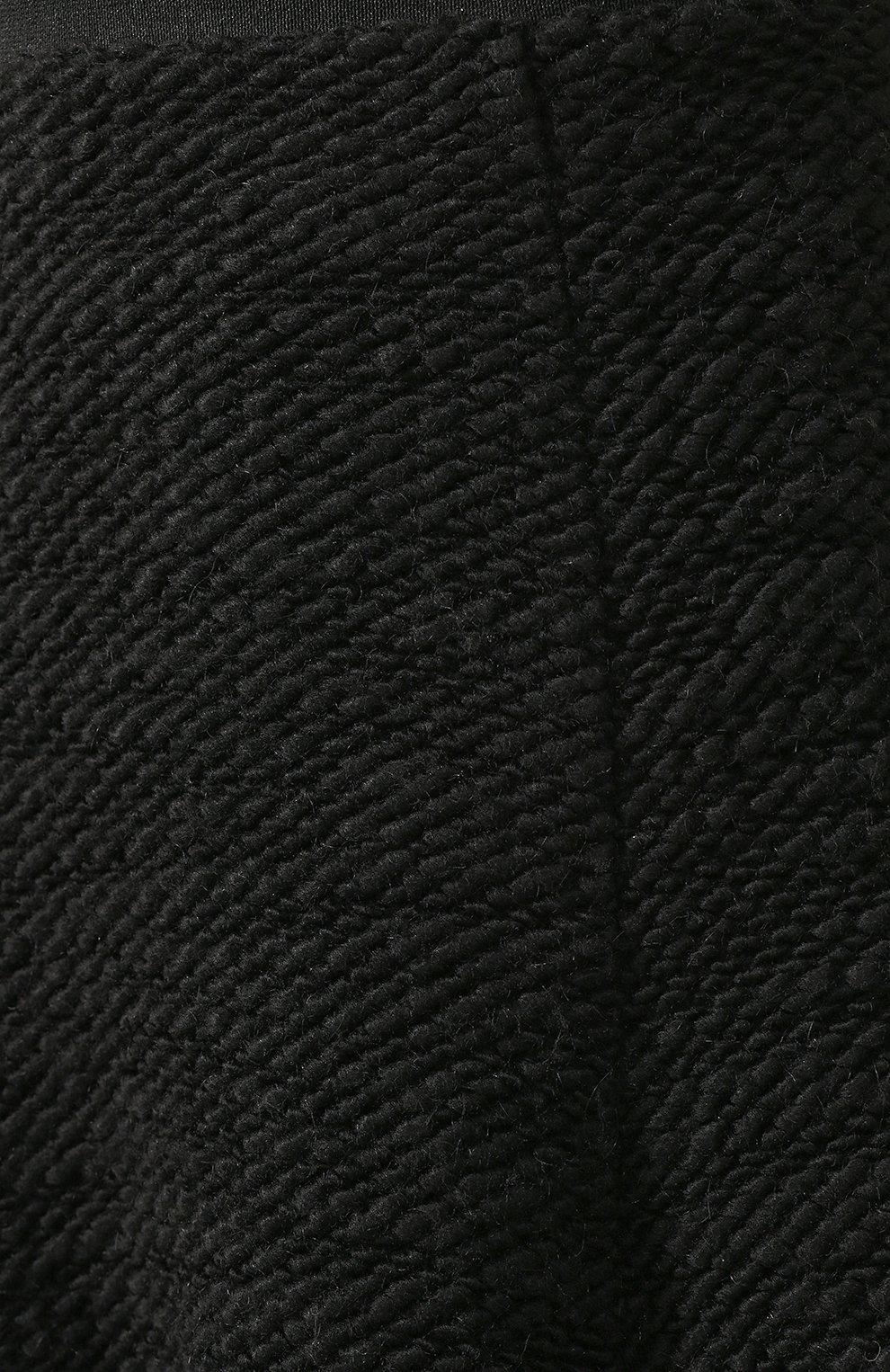 Женская юбка TEGIN черного цвета, арт. FS2065 | Фото 5