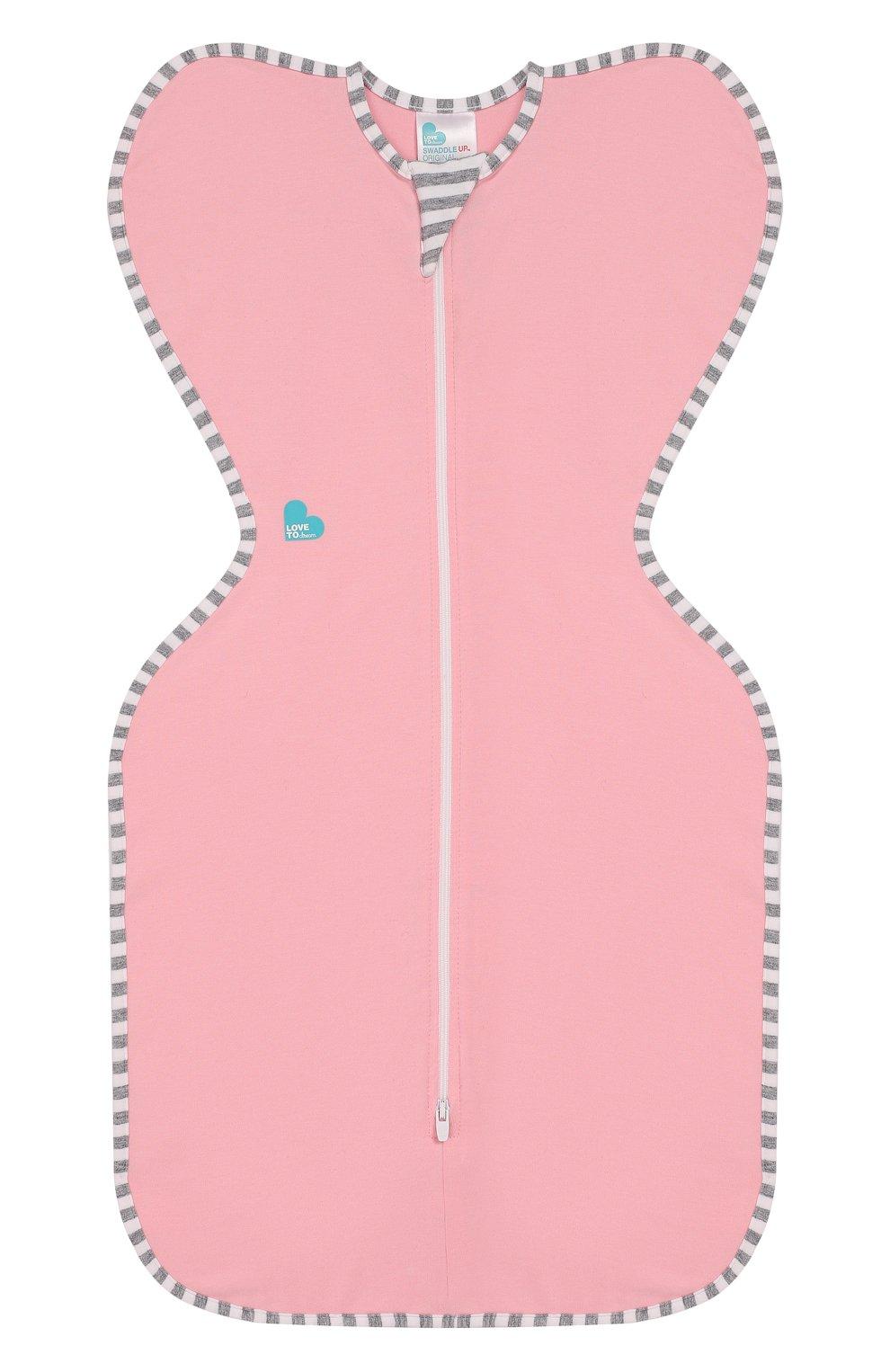 Детский спальный комбинезон LOVE TO DREAM розового цвета, арт. L10 01 001 PK M | Фото 1