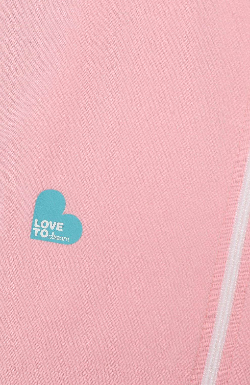 Детский спальный комбинезон LOVE TO DREAM розового цвета, арт. L10 01 001 PK M | Фото 3