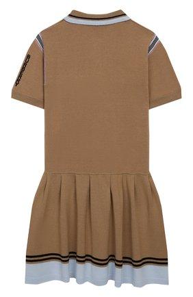 Платье из хлопка и шерсти | Фото №2