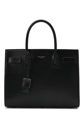 Женская сумка sac de jour baby SAINT LAURENT черного цвета, арт. 421863/02G9W | Фото 1
