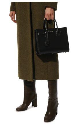 Женская сумка sac de jour baby SAINT LAURENT черного цвета, арт. 421863/02G9W | Фото 2