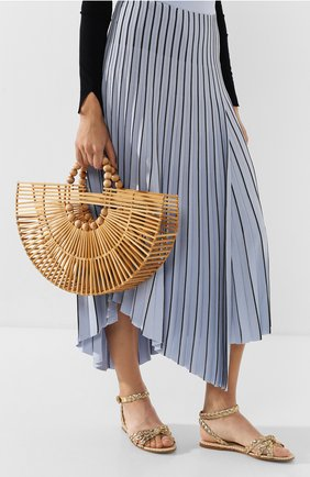 Женская сумка fan ark CULT GAIA светло-коричневого цвета, арт. 20035WD TAN | Фото 2