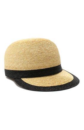 Женская соломенная кепка INVERNI бежевого цвета, арт. 4854CCG5 | Фото 1