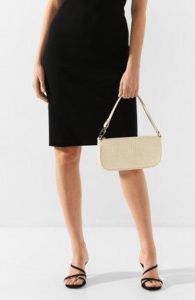 Женская сумка rachel BY FAR кремвого цвета, арт. 18FWRCLSCEDMED   Фото 2