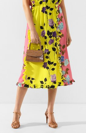 Женская сумка mini BY FAR темно-бежевого цвета, арт. 19PFMINATPDSMA | Фото 2