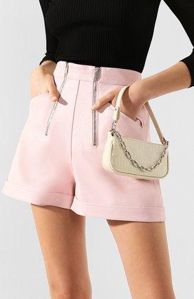 Женская сумка rachel mini BY FAR кремвого цвета, арт. 20CRMIRACEDSMA   Фото 2