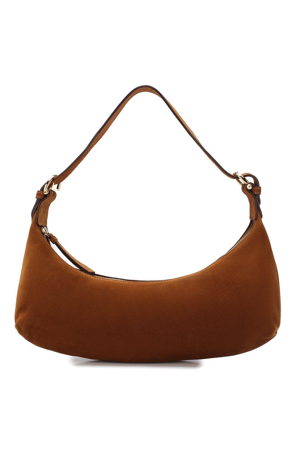 Женская сумка mara BY FAR коричневого цвета, арт. 20CRMMASBRUMED | Фото 1