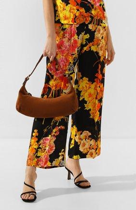 Женская сумка mara BY FAR коричневого цвета, арт. 20CRMMASBRUMED | Фото 2