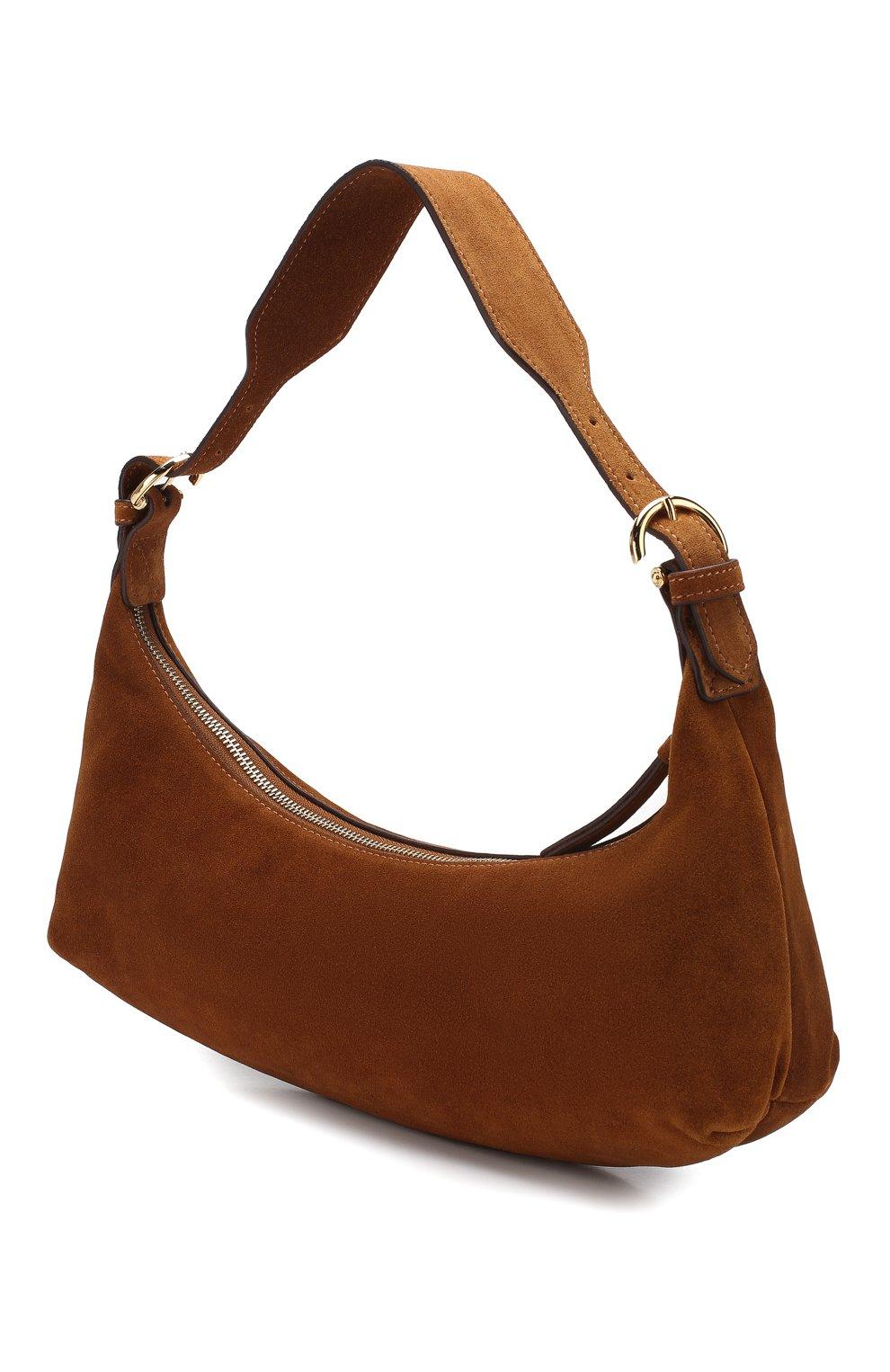 Женская сумка mara BY FAR коричневого цвета, арт. 20CRMMASBRUMED | Фото 3