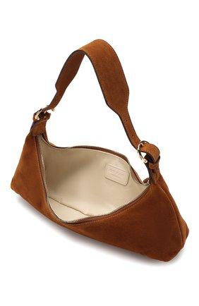 Женская сумка mara BY FAR коричневого цвета, арт. 20CRMMASBRUMED | Фото 4
