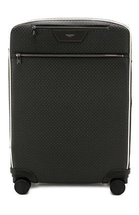 Мужской дорожный чемодан SERAPIAN серого цвета, арт. SSTEPMTR7064M55B | Фото 1