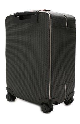 Мужской дорожный чемодан SERAPIAN серого цвета, арт. SSTEPMTR7064M55B | Фото 2