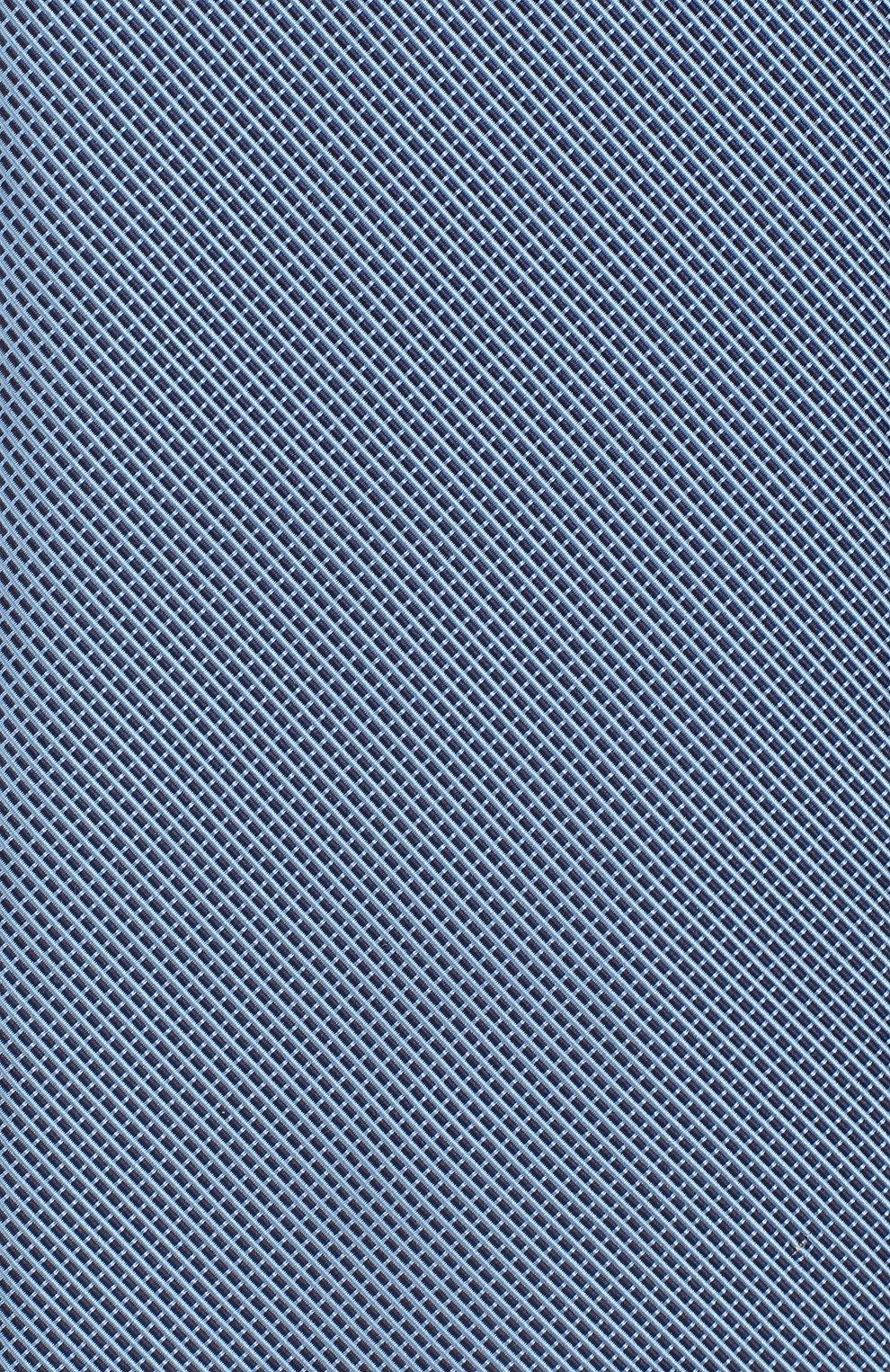 Мужской галстук из смеси шелка и хлопка VAN LAACK голубого цвета, арт. LUIS-EL/K04063 | Фото 3