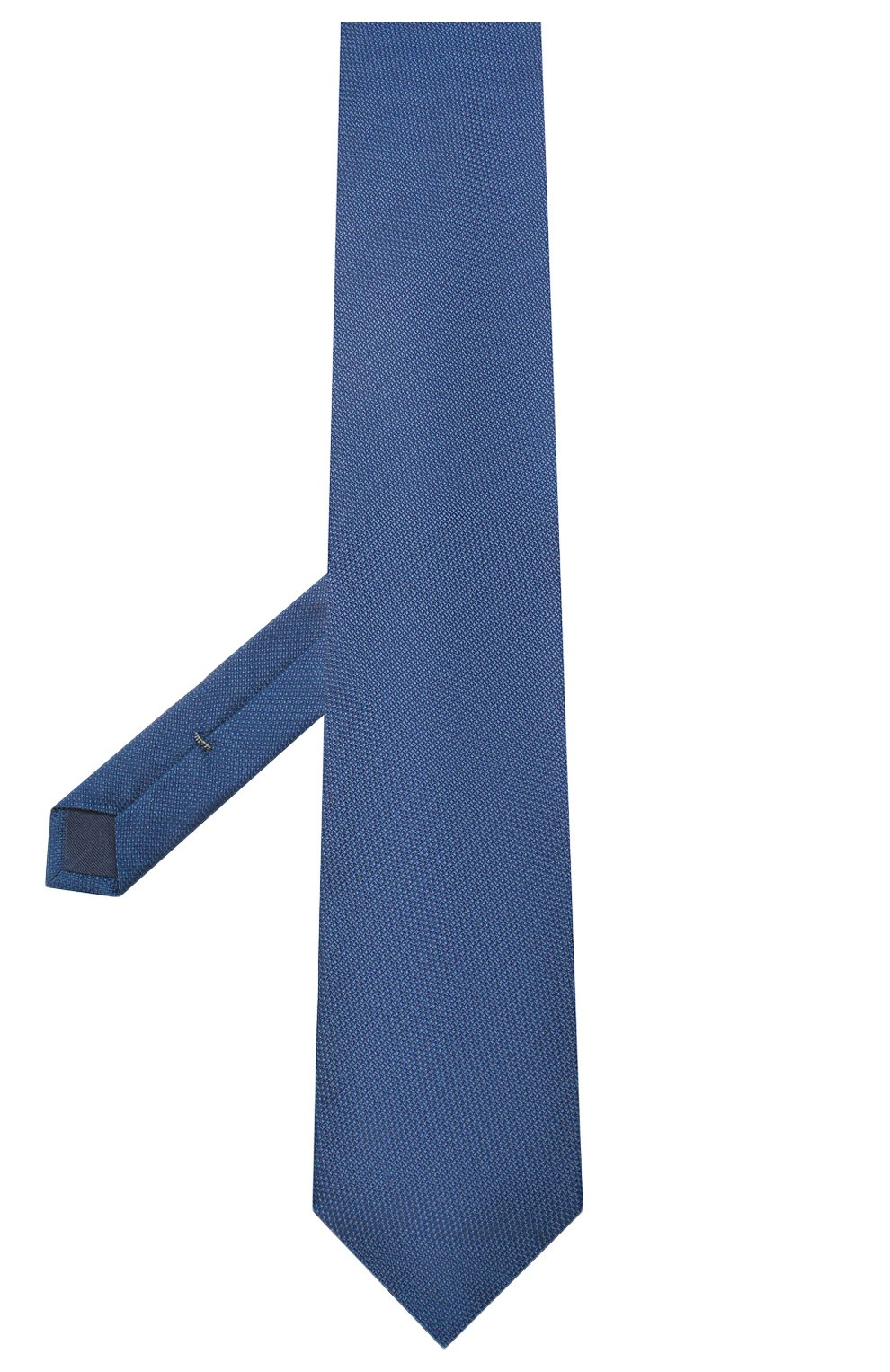 Мужской шелковый галстук VAN LAACK синего цвета, арт. LUIS-EL/K04061 | Фото 2