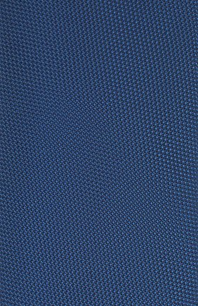 Мужской шелковый галстук VAN LAACK синего цвета, арт. LUIS-EL/K04061 | Фото 3