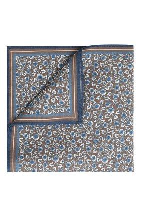 Платок из смеси шелка и льна | Фото №1