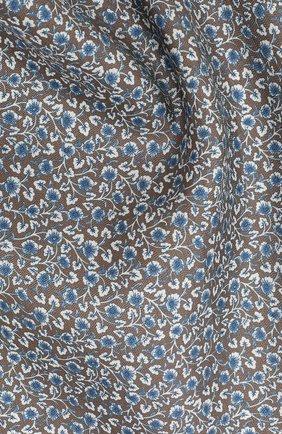 Платок из смеси шелка и льна | Фото №2