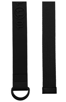 Мужской текстильный ремень MAISON MARGIELA черного цвета, арт. S55TP0118/PR325 | Фото 2