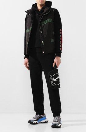 Текстильная поясная сумка Valentino Garavani VLOGO Dreamers | Фото №2