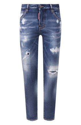 Женские джинсы DSQUARED2 синего цвета, арт. S72LB0279/S30664 | Фото 1