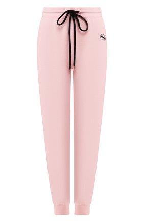Женские джоггеры MARKUS LUPFER розового цвета, арт. KN2829 | Фото 1